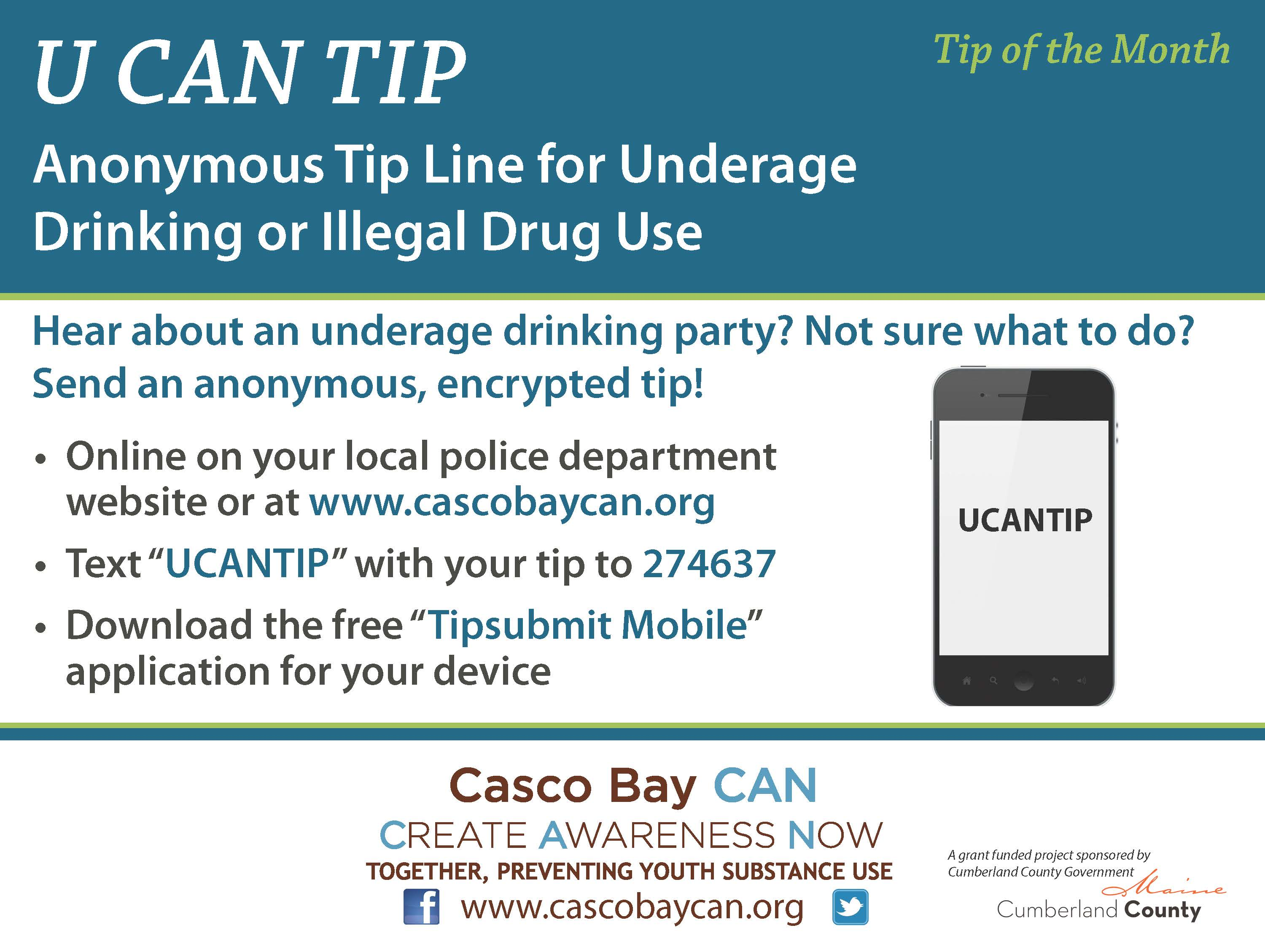 Anonymous Tip Line Archives - Casco Bay CAN | Casco Bay CAN